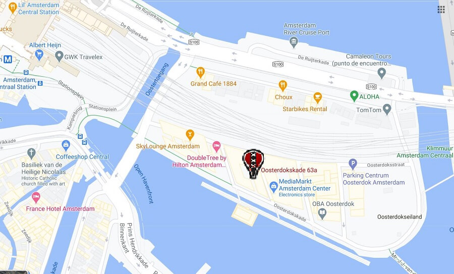 hightlight bike tour maps meeting point
