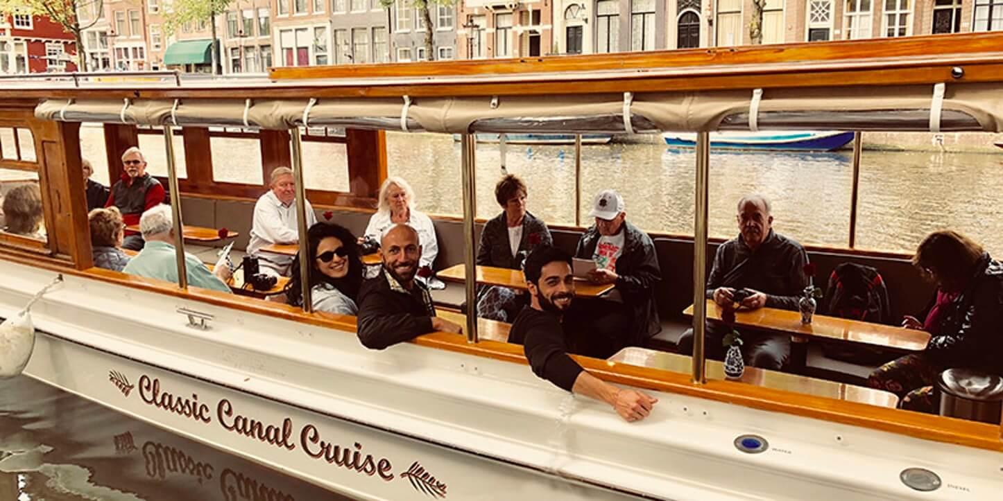 Canal Cruise luxury salon boat iris